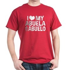 I Love My Abuela and Abuelo, T-Shirt