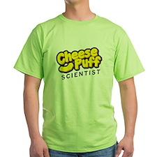 Cheese Puff Scientist T-Shirt