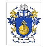 Lamond Coat of Arms Small Poster