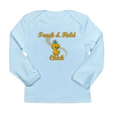 Track & Field Chick #2 Long Sleeve Infant T-Shirt
