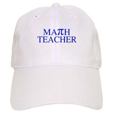 Math Teacher Pi Baseball Cap