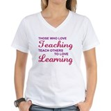 Those Who Love Teaching Shirt