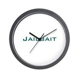 Jailbait Wall Clock
