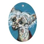 paintingmimi.jpg Ornament (Oval)