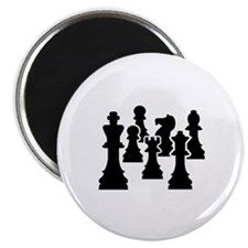 "Chess Chessmen 2.25"" Magnet (10 pack)"