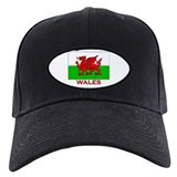Wales Flag Gear Baseball Hat
