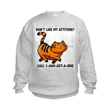 1-800-GET-A-DOG Kids Sweatshirt