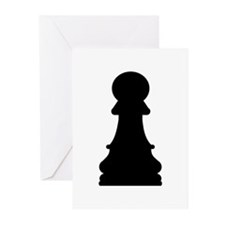 Chess pawn Greeting Cards (Pk of 20)
