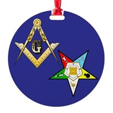 Masonic - Eastern Star Ornament