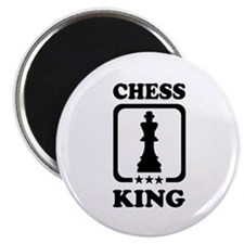 "Chess king 2.25"" Magnet (10 pack)"