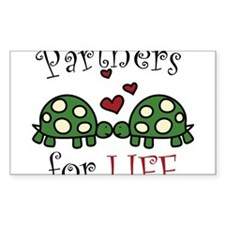 Partners For Life Decal