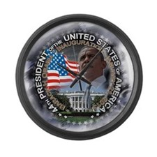 Obama Inauguration 01.21.13: Large Wall Clock