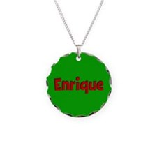 Enrique Green and Red Necklace