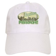 Green Boston Skyline Baseball Cap