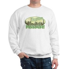 Green Boston Skyline Sweatshirt