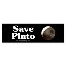 Save Pluto Bumper Bumper Sticker