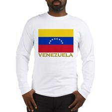 Venezuela Flag Merchandise Long Sleeve T-Shirt