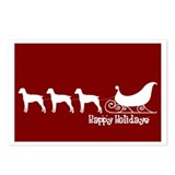 "Brit Spaniel ""Sleigh"" Postcards (Package of 8)"