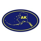 AK- Alaska Decal
