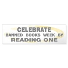 Banned Books Week Bumper Bumper Sticker