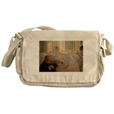 Famous Paintings: The Ballet School Messenger Bag