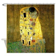 The Kiss by Klimt Shower Curtain