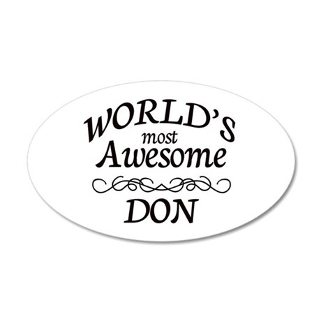 Awesome 20x12 Oval Wall Decal