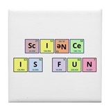 Science is Fun Tile Coaster