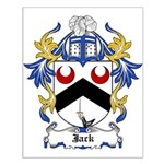 Jack Coat of Arms Small Poster