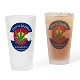 First to Legalize Drinking Glass