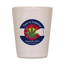 First to Legalize Shot Glass