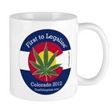 First to Legalize Small Mug
