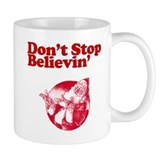 dont stop believing in santa claus Mug