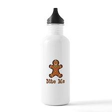Gingerbread Man Water Bottle