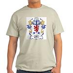 Hurry Coat of Arms Ash Grey T-Shirt
