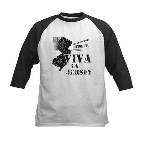 Viva La Jersey Kids Baseball Jersey