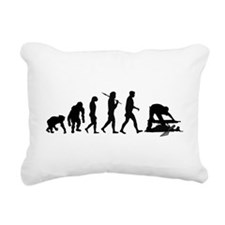Archaeologist Rectangular Canvas Pillow