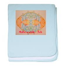 Make a wish... fish baby blanket