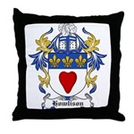 Howlison Coat of Arms Throw Pillow