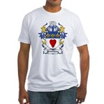 Howlison Coat of Arms Fitted T-Shirt