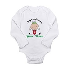 Personalized Baby's 1st Christmas Baby Outfits