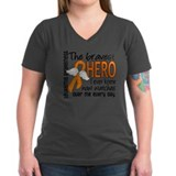 Bravest Hero I Knew Leukemia Shirt