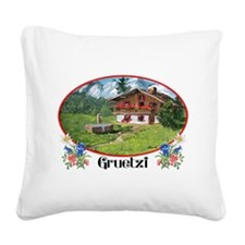 swiss gruetze Square Canvas Pillow