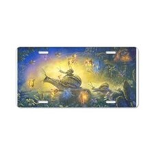 Fairy Snail Parade Aluminum License Plate