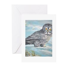 Great Grey Owl Greeting Cards (Pk of 20)