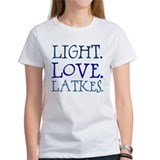 Light. Love. Latkes. Tee