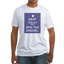 Keep Calm and Spin the Dreidel Shirt