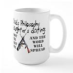 Dad's Philosophy Large Mug