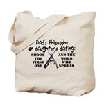 Dad's Philosophy Tote Bag
