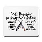 Dad's Philosophy Mousepad